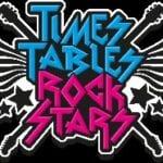 Times Tables Rock Stars logo